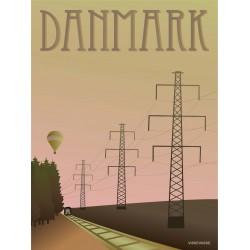 Denmark Masts plakat VISSEVASSE