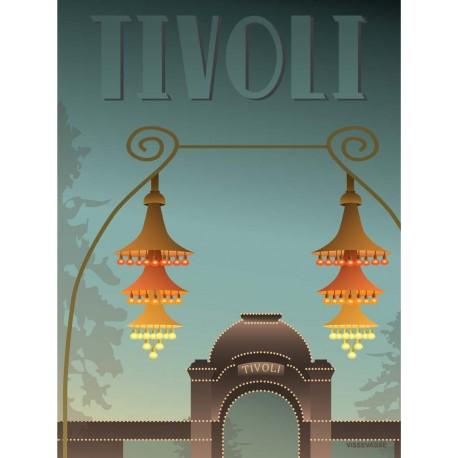 Tivoli Entrance plakat VISSEVASSE