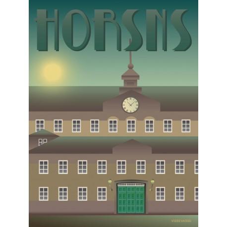 Horsens prison plakat VISSEVASSE