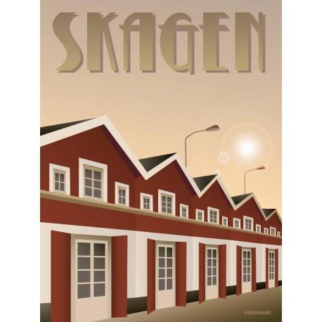 Skagen Harbour plakat VISSEVASSE