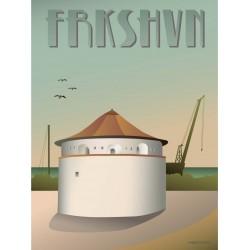 Frederikshavn Gun powder magazine plakat VISSEVASSE