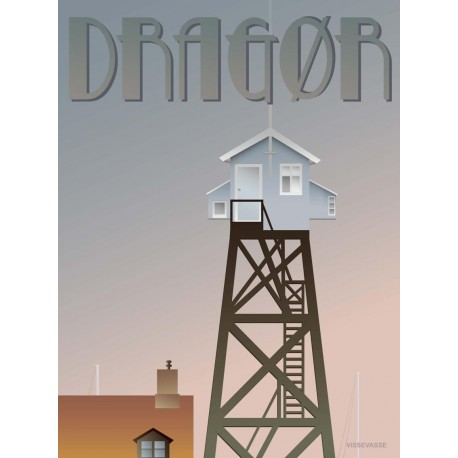 Dragør the Tower plakat VISSEVASSE