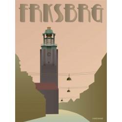 Frederiksber City Hall plakat VISSEVASSE