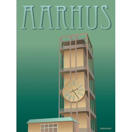 Aarhus City hall plakat VISSEVASSE