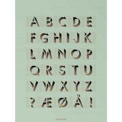 ABC mint plakat VISSEVASSE